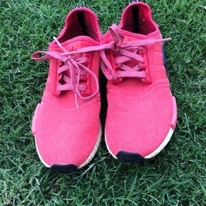 Adidas NMD Boost, red color and size 7
